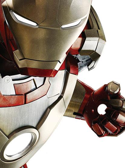 na zdjęciu jest bohater filmu Iron Man