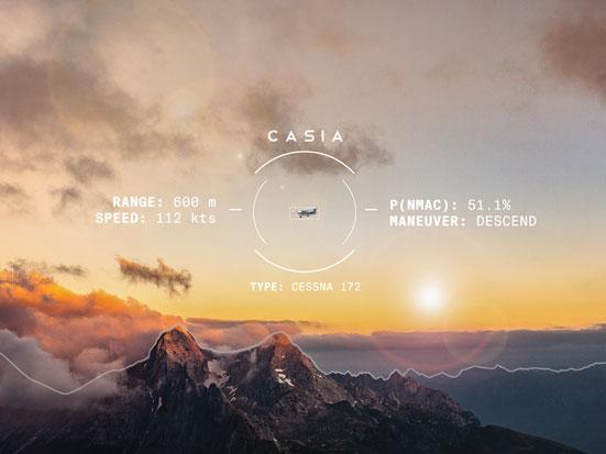 na zdjeciu jest pokazane jak CASIA widzi obiekty
