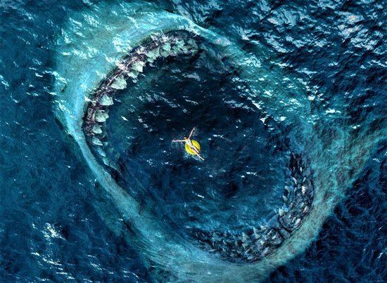zdjęcie to kadr z filmu The Meg