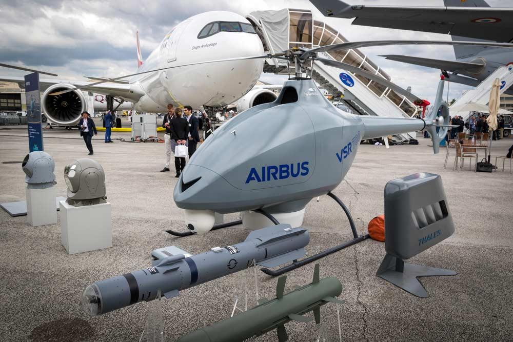 Autonomiczny dron Airbus, Paris Air Show 2019