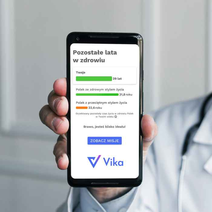 Ekran aplikacji Vika